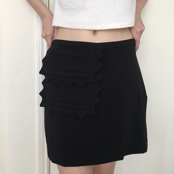 a7997c4e63 Victoria Beckham for Target Skirts | Black Ravioli Skirt | Poshmark
